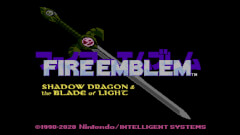 Fire Emblem: Shadow Dragon and the Blade of Light screenshot